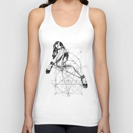 Samael Lilith and the Golden ratio Unisex Tank Top
