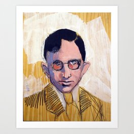 1935 Killed Huey Long (Carl Weiss) Art Print