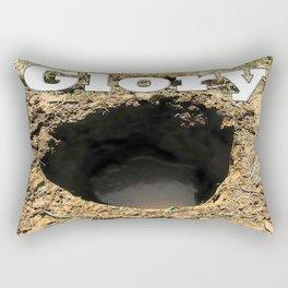 Glory Hole Rectangular Pillow