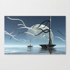 Ribbon Islands Canvas Print