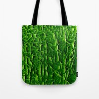 vegetable Tote Bags featuring green vegetable by clemm
