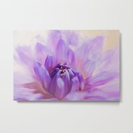 Flower Art - Magic Is Believing In Yourself Metal Print