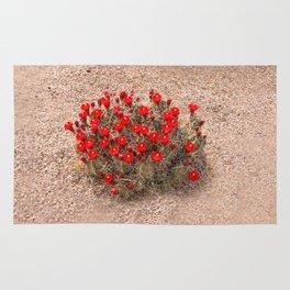 Sandia Cactus Flowers Rug