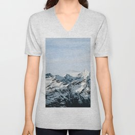 Mountain #landscape photography Unisex V-Neck