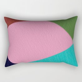Rhombic Rectangular Pillow