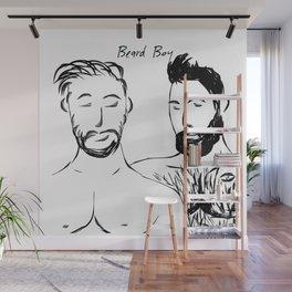 Beard Boys 1 Wall Mural