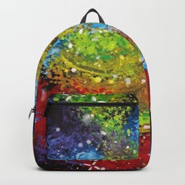 Rainbow Galaxy Backpack