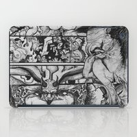sin city iPad Cases featuring Sin by Cifertherhyme