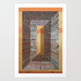 Brickwork 02 Art Print