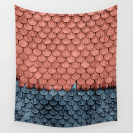 SHELTER / Little Boy Blue / Blooming Dahlia Wall Tapestry