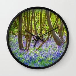 BLUEBELL JOY Wall Clock