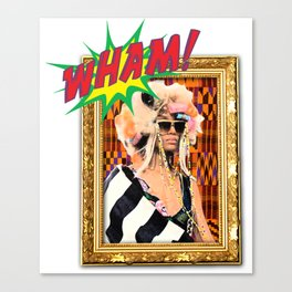 Wam Bam Thank You Ma'am! Canvas Print