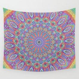 A little bit of Rainbow - Mandala Art Wall Tapestry