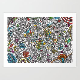 COLOR Art Print