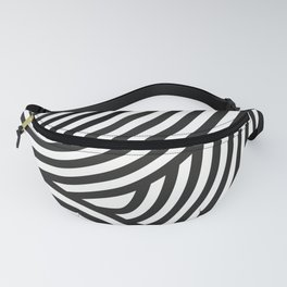 Moving lines Fanny Pack