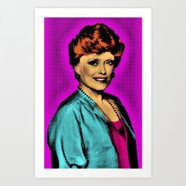 The Golden Girls: Blanche Devereaux Art Print