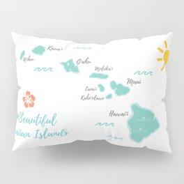 The Hawaiian Islands Pillow Sham