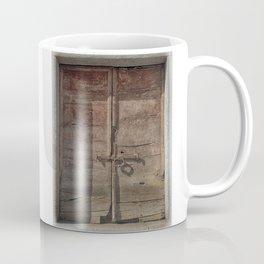 OLD DOOR 01 Coffee Mug