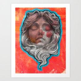 mascaron Art Print