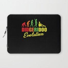 Didgeridoo Evolution Gift Laptop Sleeve