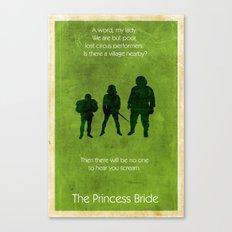 The Princess Bride Canvas Print