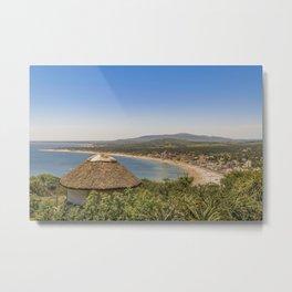 Landscape Aerial View Piriapolis Uruguay Metal Print
