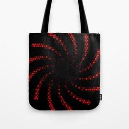 hexagonal spiral Tote Bag