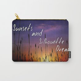 Sunsets and Silhouette dreams Carry-All Pouch