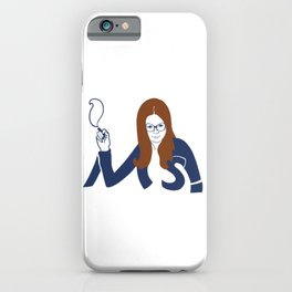 Mrs. America iPhone Case
