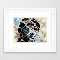 jack nicholson Framed Art Prints featuring Jack Nicholson by ARTito