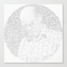 [De]generated ArcFace - Hunter S. Thompson Canvas Print