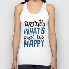 Happy Work Unisex Tank Top