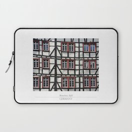 City of Monschau, German architecture Laptop Sleeve