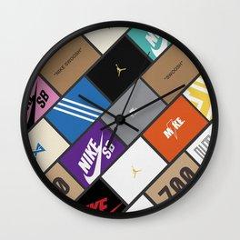 Sneaker Box  Wall Clock