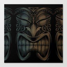 Tiki Canvas Print