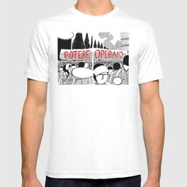 Antonio Negri Illustrated #01 T-shirt