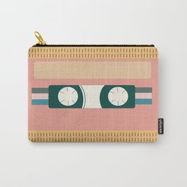 Nectarine Vintage 90s Cassette Tape Carry-All Pouch