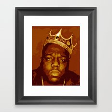 hipnotize biggie! Framed Art Print