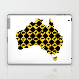 Australian Animals Road Signs Map Laptop & iPad Skin
