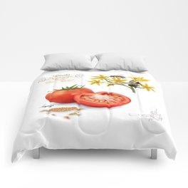 Tomato and Pollinators Comforters