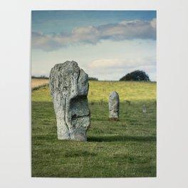 Avebury Stones Poster