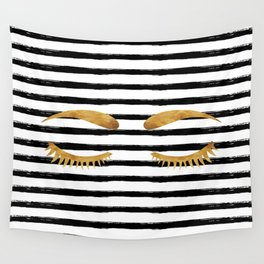 Eyes & Stripes Wall Tapestry