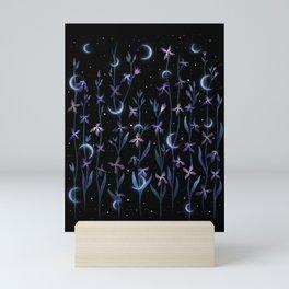 Greeting the Moon - Matthiola Mini Art Print