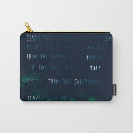 """""""Conquest of the Useless"""" by Werner Herzog Carry-All Pouch"""