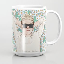 Niall daisies field Coffee Mug