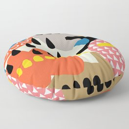 The sorcery of color n° 1 Floor Pillow