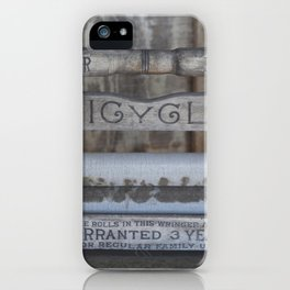 Antique Washer iPhone Case