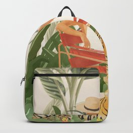 The Lady and the Tiger II Backpack