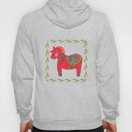The Red Dala Horse Hoody