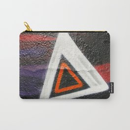 Double Triangle  Carry-All Pouch